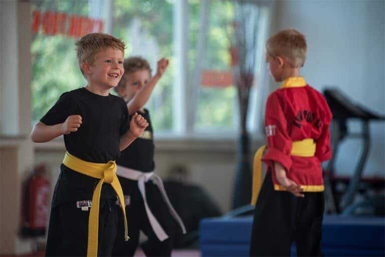 Kampfsport In Unna - Aufwärmen