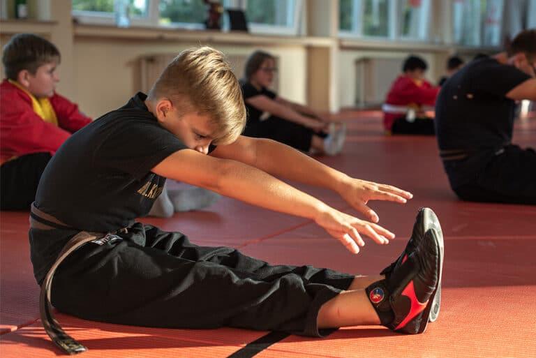 Kampfsport In Unna - Dehnübungen