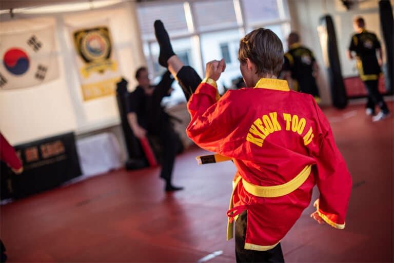 Kampfsport In Unna - Tritttechnik
