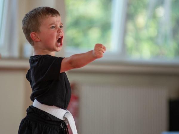 Kampfsport in Unna - Altersgruppe Minis