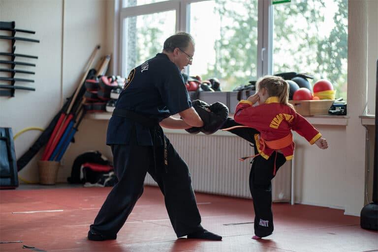 Kampfsport In Unna - Trittechnik