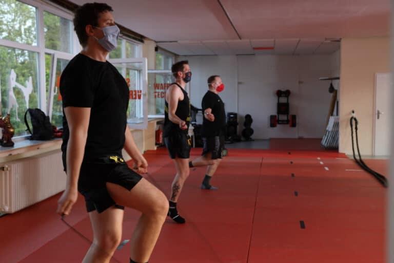 Kick-Thai Boxing - Seilspringen