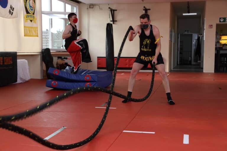 Kick-Thai Boxing - Ausdauertraining